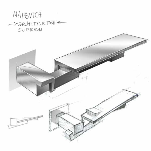 door handle MALEWICH