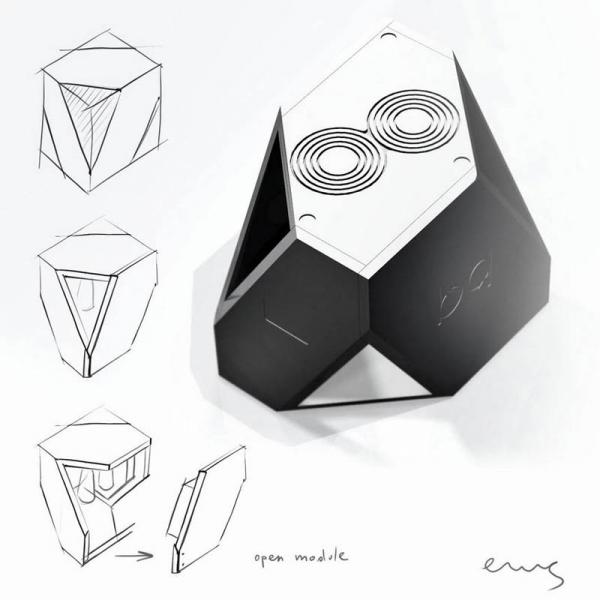 mono power amplifier / sketch v-2