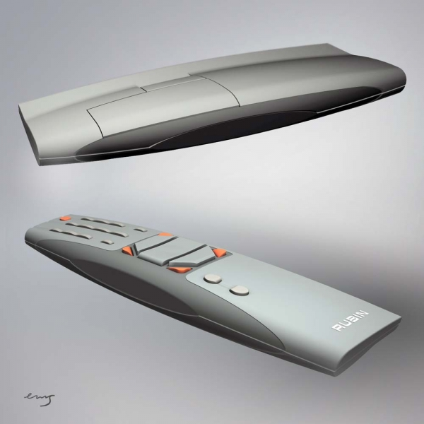 TV remote / Rubin / 2002